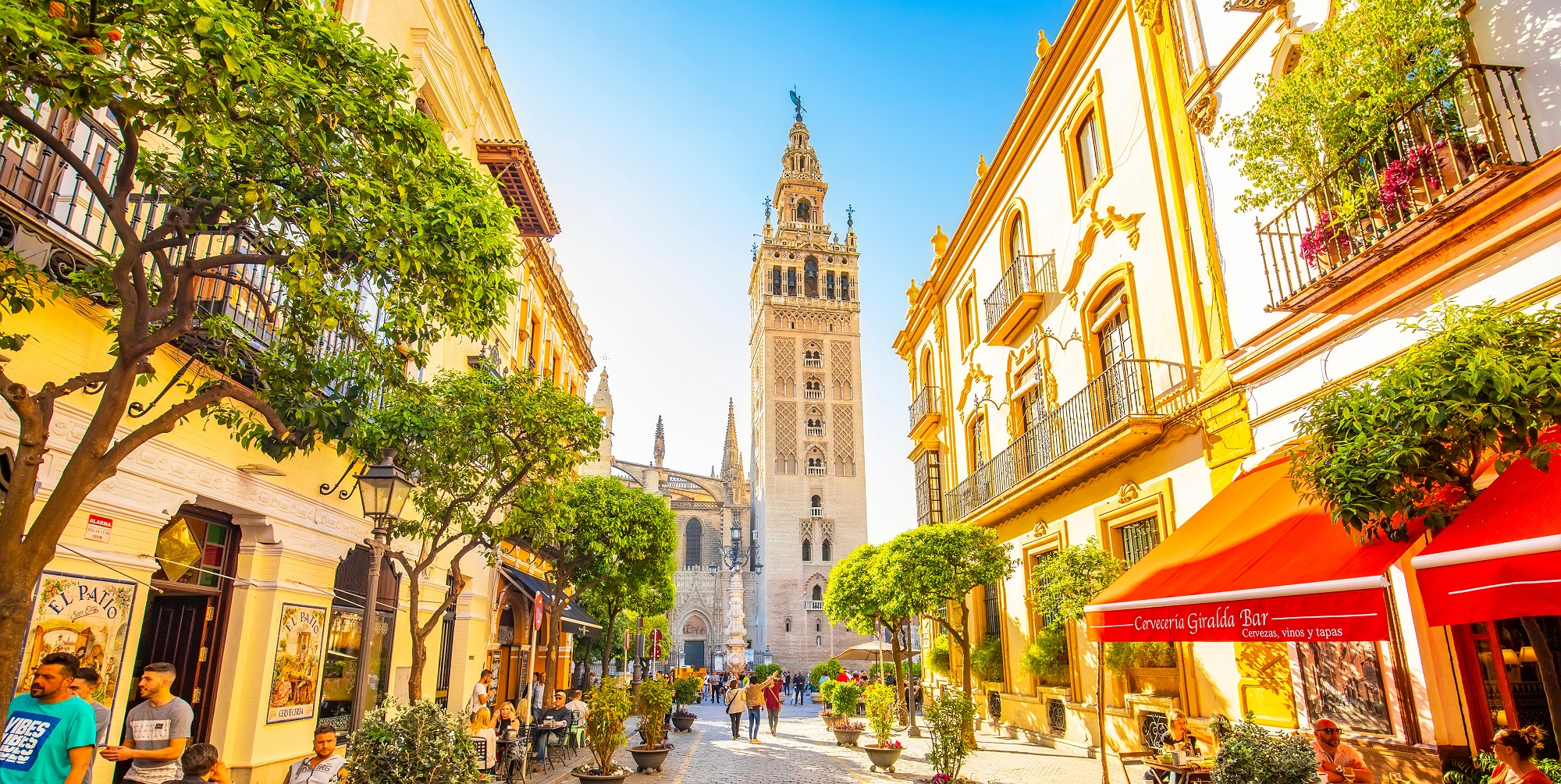 Sevilla,,Spain,-,15,March,,2019:,City,View,With,Seville